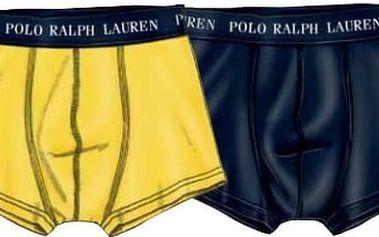 Ralph Lauren Polo Sada boxerek 2 Pack Trunk Yellow/Navy 251U2TNK-B6598-VPK03 M