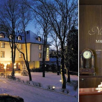LAST MINUTE ubytování v Praze pro dva se snídaní v Hotelu Na Zámečku v pokojích Standard nebo Superior s parkováním zdarma