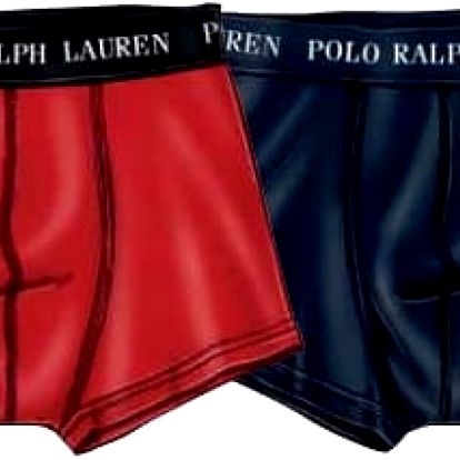 Ralph Lauren Polo Sada boxerek 2 Pack Trunk Red/Navy 251U2TNK-B6598-VPK02 M