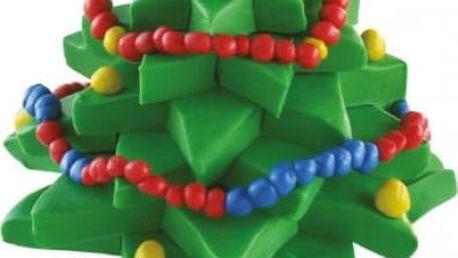 Modelovací hmota Vánoční stromeček
