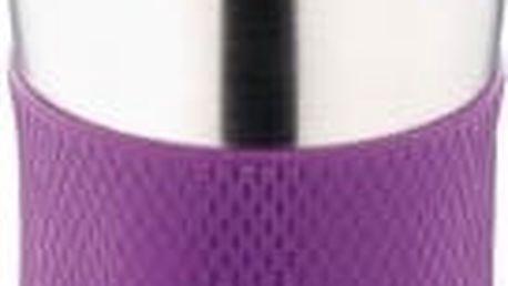 Termohrnek cestovní 380 ml, fialový RENBERG BL-1333fial