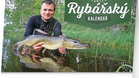 Stolní kalendář 2017 - Rybářský - dodání do 2 dnů