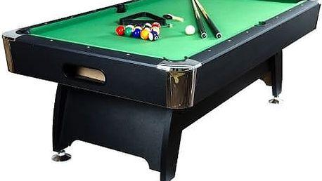 Kulečníkový stůl pool billiard kulečník 8 ft s vybavením