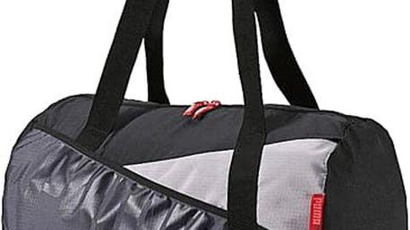 Skvělý vánoční dárek pro ženy: dámská sportovní taška Puma Studio Barrel Bag ve tvaru barelu