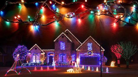 Vánoční osvětlení pro vnitřní i venkovní použití
