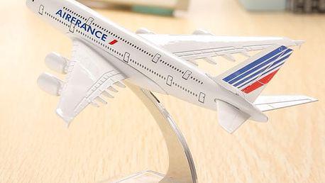 Model francouzského letadla Airbus A380