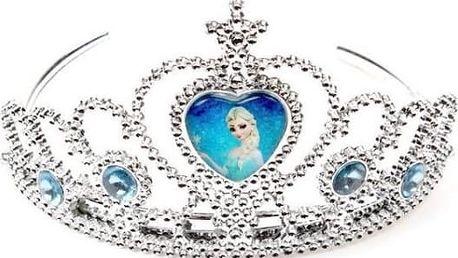 Korunka princezny Elsy z ledového království pro malé parádnice, universální velikost.