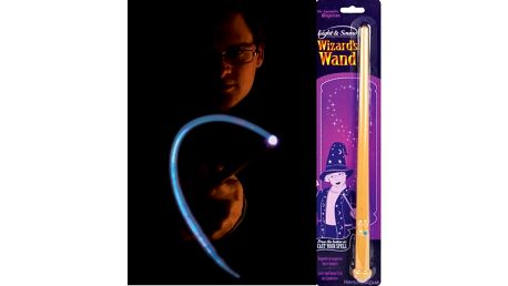 Svítící kouzelnická hůlka se zvuky