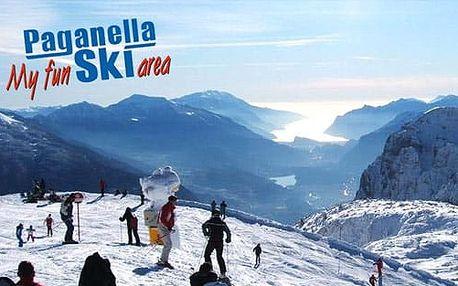 5–6denní Paganella ski | Doprava, Hotel Piancastello***, polopenze a skipas v ceně!