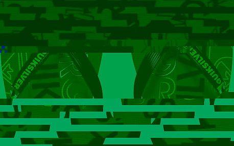 Quiksilver Pánské žabky Molokai Nitro Black/Green/Yellow AQYL100057-XKGY 42
