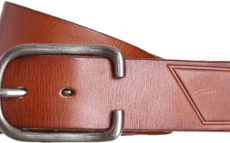 Volcom Kožený opasek Hitch Leather Belt Brown D5931551-BRN S/M