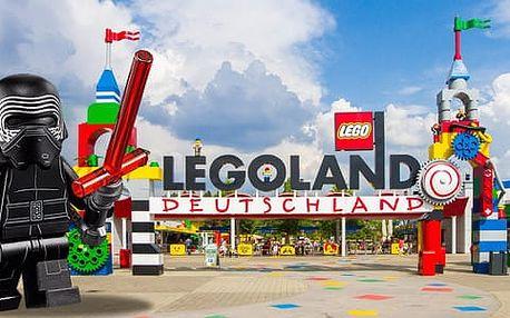 Dárek pro celou rodinu! Vstupenka na jarní zájezd do Legolandu a na den Star Wars včetně dopravy a průvodce