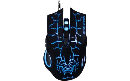 Herní podsvícená myš - optická 2400 DPI