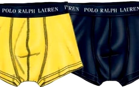 Ralph Lauren Polo Sada boxerek 2 Pack Trunk Yellow/Navy 251U2TNK-B6598-VPK03 XL