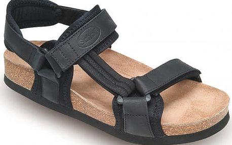Scholl Černé sandály New Track Bioprint Black F219281004 38