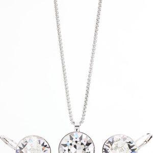Set náhrdelníku a náušnic se Swarovski Elements Stangan - doprava zdarma!