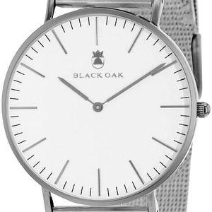 Stříbrné dámské hodinky Black Oak Steel - doprava zdarma!