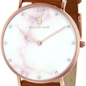 Hnědé dámské hodinky Black Oak Marble - doprava zdarma!