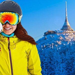 Jednodenní skipas do skiareálu Ještěd