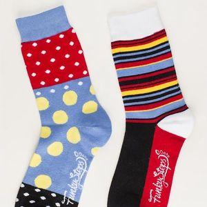 Dva páry ponožek Funky Steps Salsa, unisex velikost