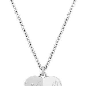 Guess Ocelový náhrdelník s přívěskem srdce USN11108