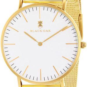 Zlaté dámské hodinky Black Oak Steel - doprava zdarma!