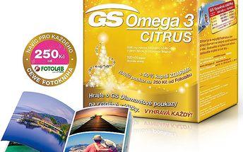 GS Omega 3, 120 + 60 kapslí + DÁREK