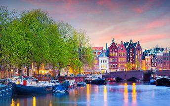 Amsterdam: 3 denní zájezd pro 1 osobu + větrné mlýny, brusírny diamantů, vyjížďka lodí