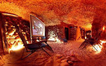 Pobyt v solné jeskyni vč. dětského vstupu
