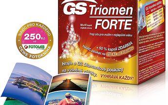 GS Triomen Forte 80 + 40 kapslí + DÁREK