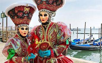 Poznávací zájezd do italských Benátek + karneval