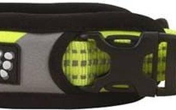 Obojek Hurtta Lifeguard Dazzle 55-65cm žlutý