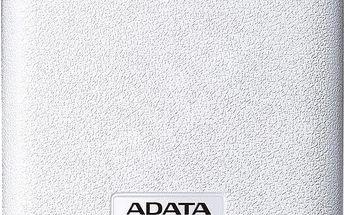 ADATA PV150 Power Bank 10000mAh - bílá