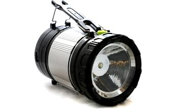 Kempingová solární lampa