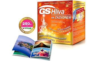 GS Hlíva Orient se zázvorem 120 + 30 tablet + DÁREK