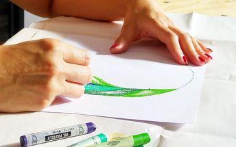 Art koučink - 2hod. kurzu kreativního malování s výkladem hotového obrazu od kouče
