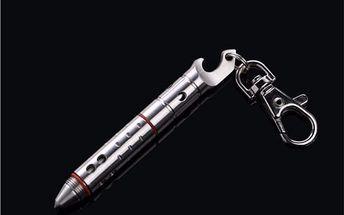 Multifunkční přívěsek na klíče - 4 v 1