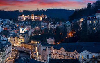 Relax v Karlových Varech se vstupem do lázní