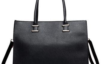 Dámská černá kabelka Eunice 1509