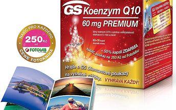GS Koenzym Q10 60mg Premium 90 kapslí