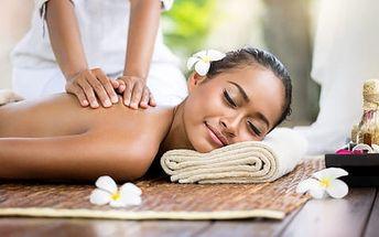 Až 74% sleva na masáž dle výběru ve Wellness studiu Balzam