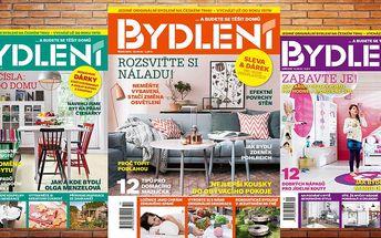 Roční předplatné časopisu Bydlení 2017