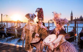 Benátky, 3denní zájezd na karneval pro 1 osobu z Prahy, Tábora a Č. Budějovic, únor 2017