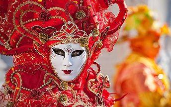 Karnevalové Benátky 2017 s dopravou a průvodcem