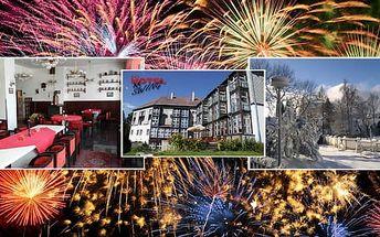 Nezapomenutelný Silvestr v Hotelu Swing*** s polopenzí a silvestrovskou zábavou + jedno dítě do 6 let zdarma