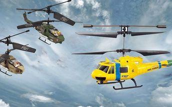 Vzdušný souboj vrtulníků