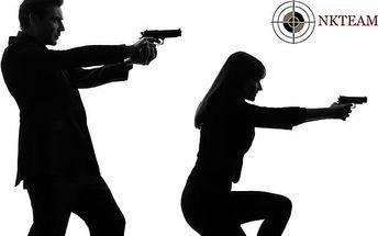 Střílení z několika druhů zbraní na mnoha střelnicích v ČR
