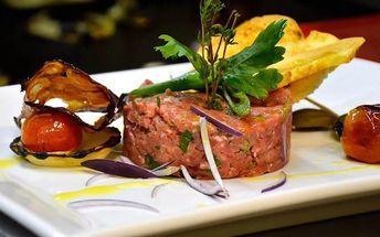 Degustační kuchařské show v Presto meat-market