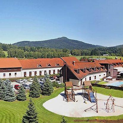 3–6denní wellness pobyt s polopenzí v resortu Malevil v Lužických horách pro 2