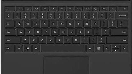 Microsoft Surface Pro 4 Type Cover, černá - QC7-00094